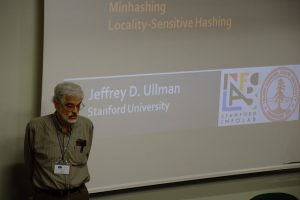 Prof. Ullman was about to start his lecture
