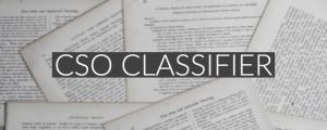 CSO Classifier