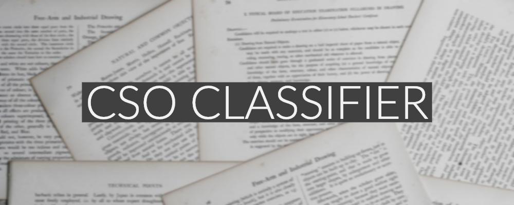 Project - CSO Classifier