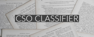 CSO Classifier